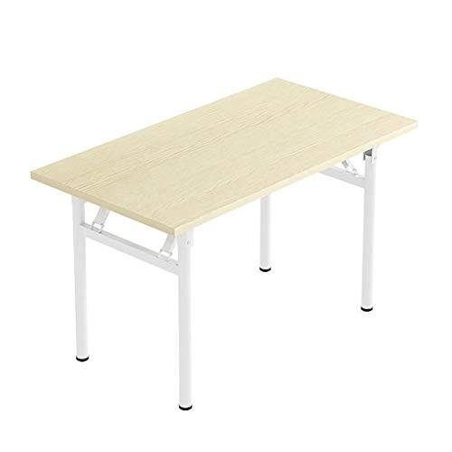 Saladplates-LXM Desktop Desktop Desk, Scrivania for Studenti, Scrivania Rettangolare Semplice, Semplice Tavolo Pieghevole in Affitto (Size : 80x50x75cm)