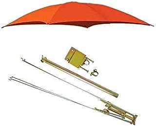 ROPS Kubota Orange Tractor Umbrella Canopy & Canvas Cover w/Rollbar Mount Farmer Bob's Parts 405966