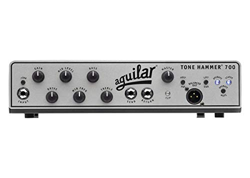 Lowest Price! Aguilar Tone Hammer 700 Super Light Bass Head 700W