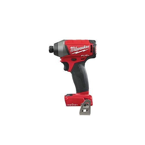 Milwaukee 4933459196 Atornillador de Impacto One-Key M18 ONEID-0-4933451151 Solo, rojo
