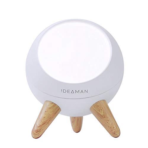 LICIDI Protección para los Ojos LED de luz de la Noche, Gesto Wireless Sensor de luz de la Noche Luz Material ABS Grano de la lámpara de Carga USB luz de la Noche Creativa de la Noche de la lámpara