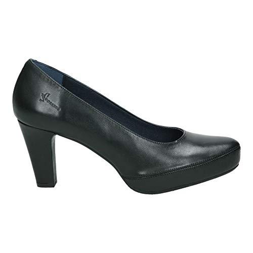 DORKING Blesa, Zapatos Plataforma Mujer, Negro Negro