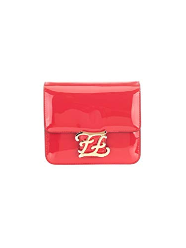 Luxury Fashion | Fendi Dames 8BT317A5AUF19T8 Rood Leer Schoudertassen | Lente-zomer 20
