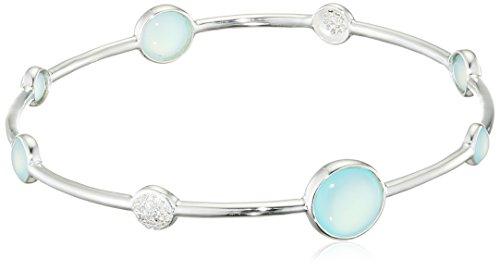 Elements Silver Damen Armreifen Silber - B5014T