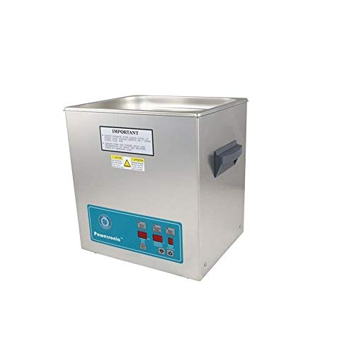 Crest Ultrasonics 1100PD132-1 Model P1100 Table Top Cleaner with Power Control, Digital Timer/Heat, 3.25 Gallon Volume, 132 kHz/115V