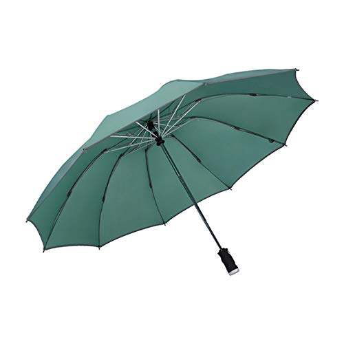 Paraguas automático Paraguas B plegable inverso con tiras reflectantes Paraguas Lluvia para hombres Mujeres Parasol masculino a prueba de viento-GN, Bélgica