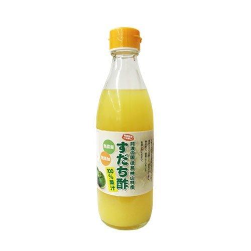 【徳島産 すだち酢 360ml】すだち果汁100%☆無農薬・無添加