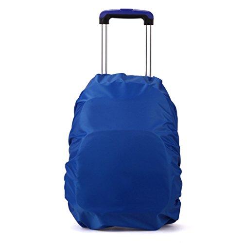 ruifu Voyage Camping Randonnée Sac à dos Sac d'école la poussière Housse de pluie 20l-35l, Bleu