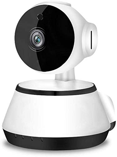 Wireless Security Camera Surveillance Camera Wireless WiFi Baby van de Camera Netwerk Bewakingscamera, White LQH (Color : White)