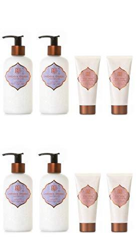 AKALIKO Lavender Cherish Body Lotion and Rosy Rose Hand Cream - Set C.