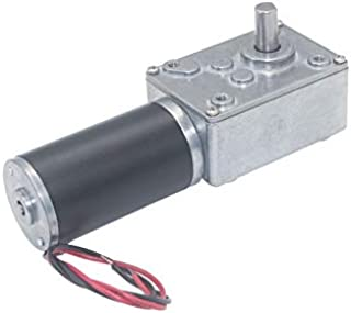1pc ZGY370 DC12V R/éduction du Moteur Worm Turbo Motor/éducteur 12V DC 1RPM 2rpm-100rpm 200rpm /électrique Transmission R/éducteur Couleur : 100rpm, Taille : 6V F-MINGNIAN-TOOL