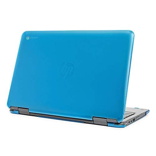 mCover Funda rígida para HP Chromebook X360 11 G3 EE (no compatible con HP Chromebook X360 11 G1 EE / G2 EE) portátiles (Aqua)