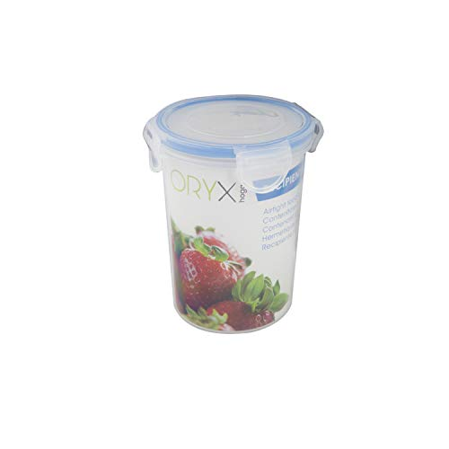 Oryx 5025020 Recipiente Hermetico Plastico Redondo 320 ml. diámetro 9.5x8.5 (Alt.) cm.