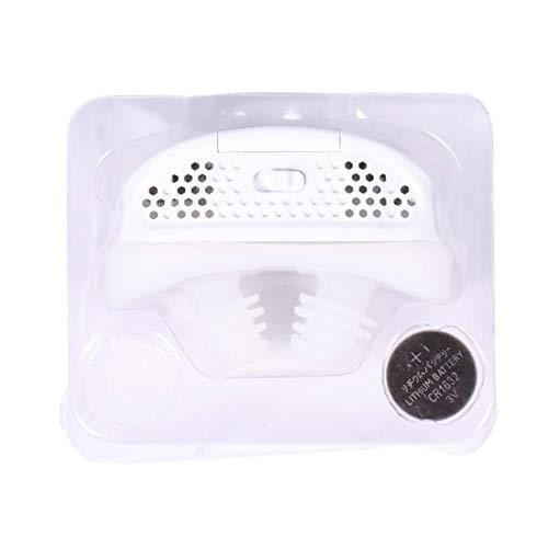 Ykortoo Snoring Solution 1PCS elektronische Anti-Schnarch-Nasenatmungsgerät Dilatatoren Schlaf-Apnoe-Ausrüstung zu stoppen zu helfen Gerät Schnarchen (Color : White)