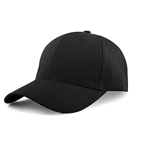KELOYI Gorra De Béisbol Hombre Mujer Verano Cap Ajustable Algodón Exterior Running Casual Hats