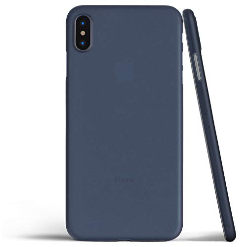 totallee Thin iPhone Xs Max Case, Thinnest Cover Ultra Slim Minimal - for Apple iPhone Xs Max (2018) (Navy Blue)