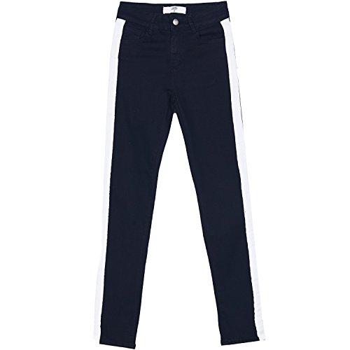 Sixth June Jeans Streifen schwarz weiß Gr. 28 DE (L), Schwarz