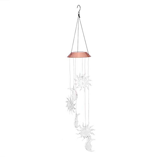 MLMLMLH Windbell Light – Outdoor Tuin Solar Power Energy Saving Wind Chimes Ledlamp Windbell voor decoratie thuis ornamenten plafond wind chimes geschenk Deco