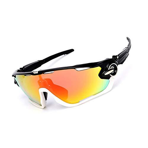 Beydodo Schutzbrille Infrarotlampe Sportbrille Radfahren Schwarz Weiß Sonnenbrille Nachtsichtbrille zum Autofahren