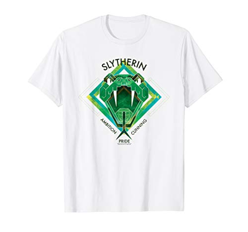 Harry Potter Slytherin Ambition Cunning Pride T-Shirt
