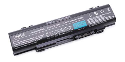 Vhbw Li-Ion Batteria 4400mAh (10.8V) per Notebook
