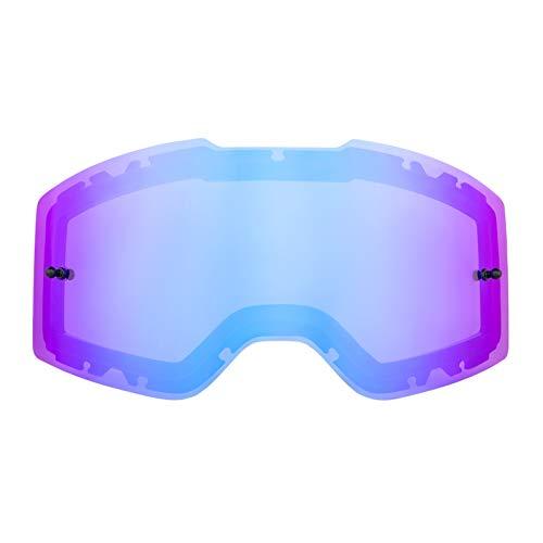 O'NEAL   Motocross-Brillen-Ersatzteile   Motorrad Enduro   Kratzfeste Ersatzlinse für die B-20 & B-30 Goggle mit Antibeschlag Beschichtung   B-20 & B-30 Goggle Spare Lens   Radium Blau   One Size