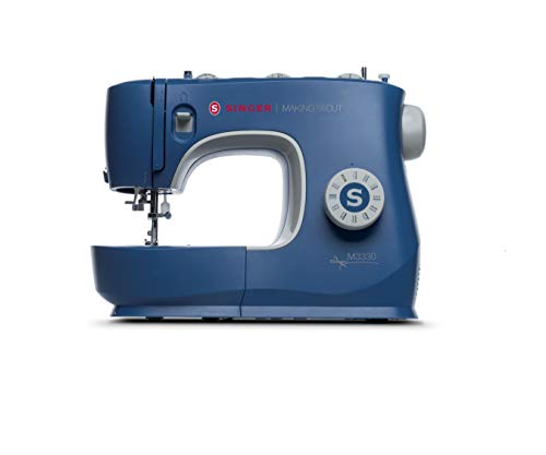 SINGER | M3330 Making The Cut Sewing Machine with 97 Stitch Applications, Metal Frame, & Needle Threader - Sewing Made Easy