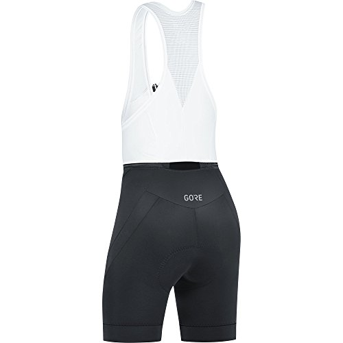 GORE Wear Atmungsaktive, kurze Damen Trägerhose, Mit Sitzpolster, C5 Women Bib Shorts+, 36, Schwarz, 100198 - 3