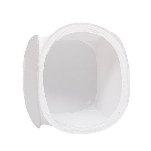 Phottix 84220 - Caja de luz para Estudio fotográfico (80 x 80 x 80 cm), Blanco