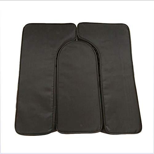 ZXMDP sponskussen/zitkussen, vierkant, voor pijnverlichting, incl. stuitbeenpijn voor de autostoel, kantoor, thuis of rolstoel