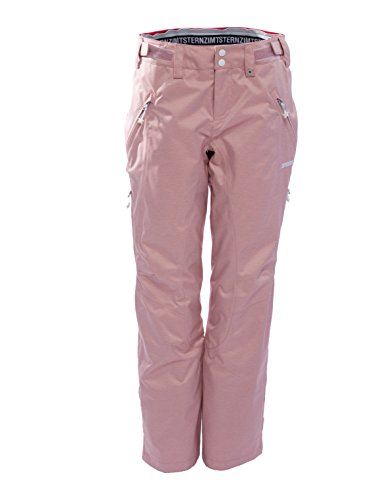 Zimtstern Damen Zlender Snow Pants, Ash Rose Twotone, L