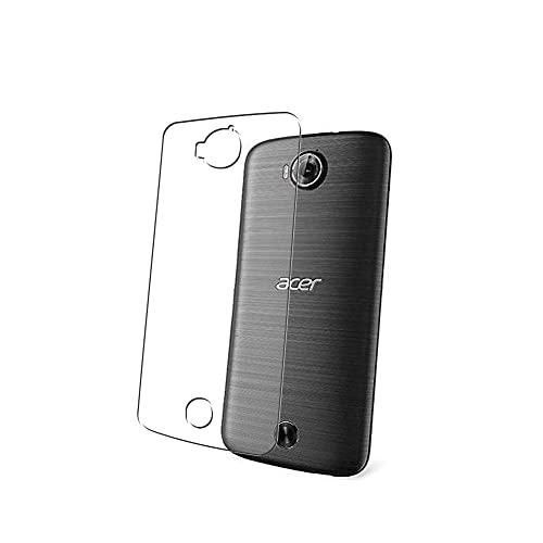 Vaxson 2 Stück Rückseite Schutzfolie, kompatibel mit Acer Liquid Jade Primo JPS58, Backcover Skin TPU Folie [nicht Panzerglas/nicht Front Bildschirmschutzfolie]