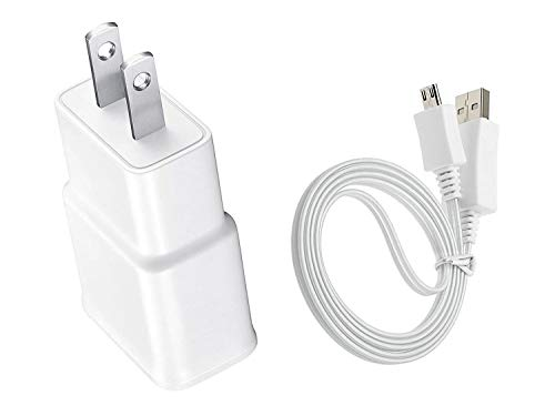 AC/DC Wall Power Charger Adapter Cord for Samsung Galaxy Tab 3 GT-P5210 10.1'' Inch Tablet
