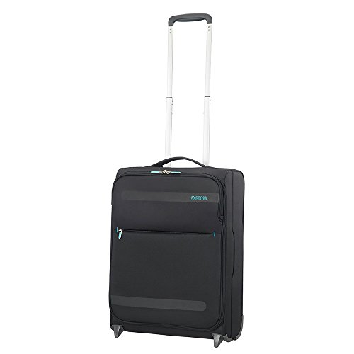 American Tourister - Herolite Super Light Upright 55/20, 55 cm, 41L, Volcanic Black