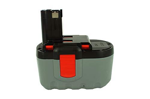 PowerSmart® 2000mAh 24V NiMH Batería para Bosch BACCS 24 V, GBH 24 V, GBH 24 V/3B, GBH 24 VF, GBH 24 VF/3B, GCM 24 V, GKG 24 V, GKS 24 V, 2607335637, 2607335645, B-8230, BAT030, BAT031, BAT240, BAT299, BH-2424, BTP1005