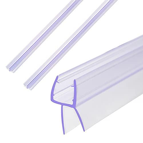 SWAWIS Guarnizione di ricambio per doccia, 3 x 100 cm, per porte in vetro da 6 mm, 7 mm, 8 mm, guarnizione in gomma per porta in vetro