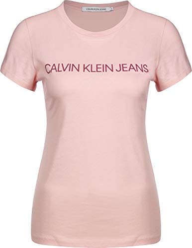 Calvin Klein Jeans Institutional Logo W T-Shirt Blossom/Beet Red