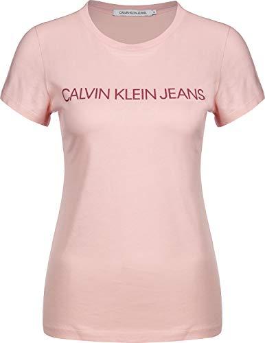 Calvin Klein Jeans Institutional Logo W Camiseta Blossom/Beet Red