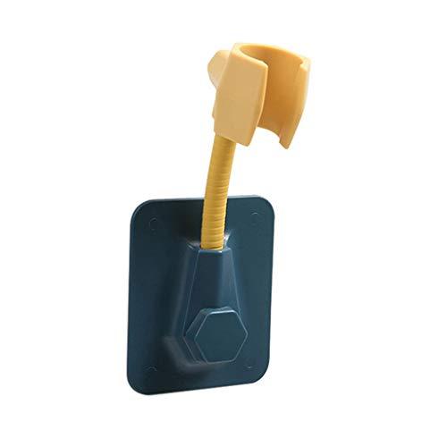 JJZXD 1pcs Soporte del Cabezal de Ducha Durable de la Ventosa del Soporte de Ducha Ducha Ajustable Soporte de fijación de la Cabeza de Ducha Estante del Soporte Soporte de Pared (Color : C)
