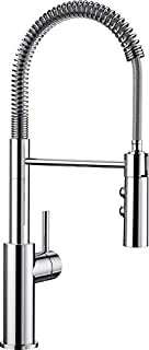 BLANCO CATRIS-S – Semi-professional Kitchen Tap with Flexible Spout and Stainless Steel Spiral – High-Pressure Model, Double-Jet Spout – Chrome – 521476 (B01I0HN5AG) | Amazon price tracker / tracking, Amazon price history charts, Amazon price watches, Amazon price drop alerts