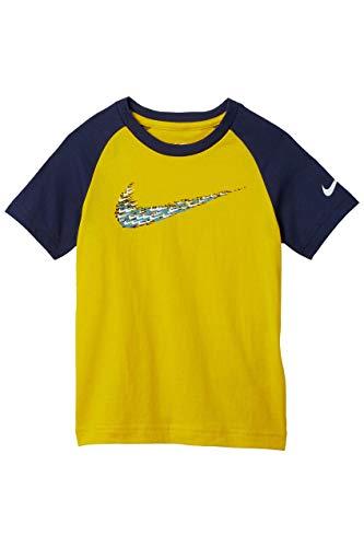 Nike Kids Baby Boy's Homerun Hitter Tee (Toddler) Speed Yellow 3T Toddler