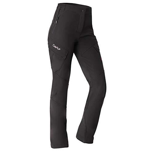 Cimalp Pantalon Chaud et imperméable Softshell 3 Couches