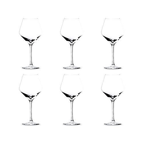 Copas De Vino Tinto Borgoña Marca summa