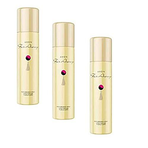 1a Avon Cosmétics 179374 Far Away Perfume Bodyspray 3 x 75 ml