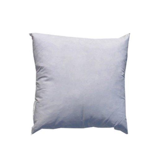 IZO All Supply 95% Feather 5% Down, Square Decorative Pillow Insert, Sham Stuffer, 14' W x 14' L