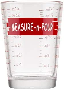 Tablecraft H1433T Measuring Cup Measure N Pour 4 oz Clear product image