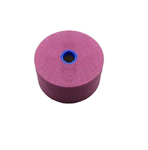 SSXPNJALQ 100 * 50 * 20mm becherförmigen Schleifscheibe Messer-Schleifer-Werkzeug (Grit : Pink PA)