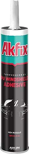 Akfix PU Auto Glass Urethane Windshield Adhesive, 10.5 fl oz