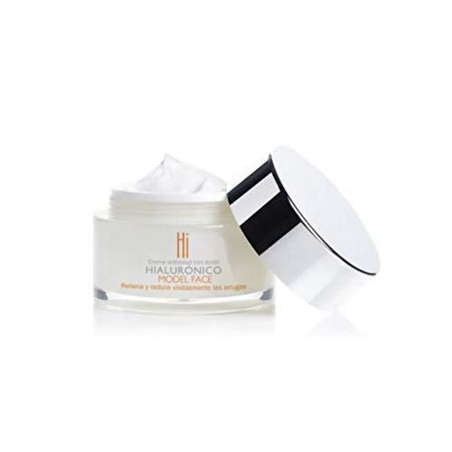 HI MODEL FACE crema facial antiedad con ácido hialurónico tarro 50 ml