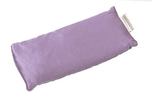 DreamTime Inner Peace Eye Pillow, Aromatherapy Lavender, Relaxation Mask for Yoga, Meditation, and Sleep, Lavender Velvet, Pack of 1